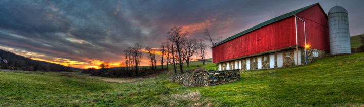 Pennsylvania Barn, Photography by Matt Knisely